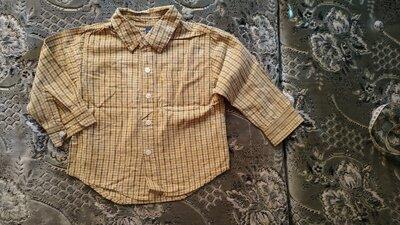 Рубашка в клетку для мальчика Черокке