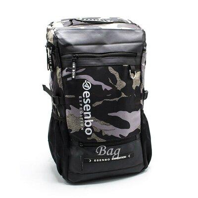 Рюкзак Esenbo Камуфляж 4 Цвета Черный