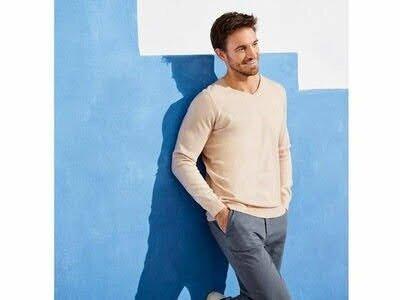 Продано: Мужской хлопковый джемпер пуловер свитер Livergy