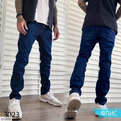 джинсы Ткань джинс на флисе Джинсы мужские на флисе. Полномерные. Производство фабричный китай.