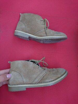Ботинки, туфли замш 31 размер