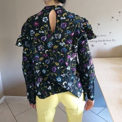 Натуральная рубашка, блуза