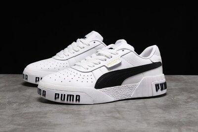 Кроссовки женские Puma Cali , белые с черным DR17993