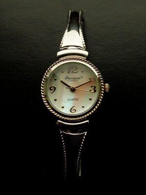 Precision by Gruen перламутровые часы из Сша механизм Japan SII