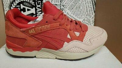 Женские осенние кроссовки Asics ,красные,розовые 41 размер