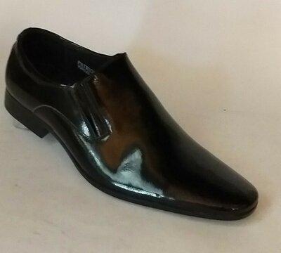 Мужские туфли 09143 лак распродажа