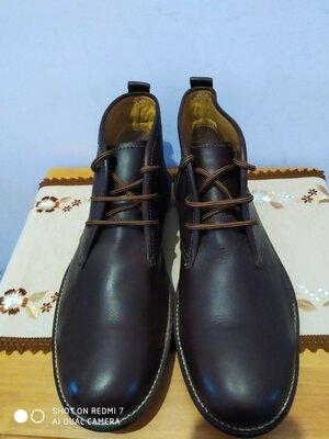 Кожаные ботинки туфли Clifford James made exclusively for тыпу clarks