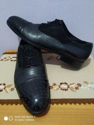 Продано: Кожаные классическиэ туфли vero cuoio