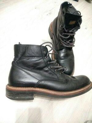 Супер классные мужские кожаные ботинки.