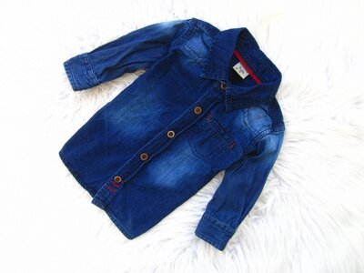 Качественная джинсовая рубашка Boite & Malices