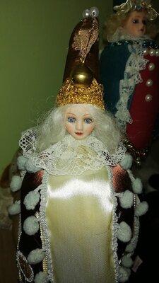 Кукла Marotte для антикварной куклы