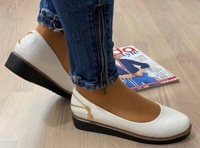 Шикарные Нарядные Туфли Под Рептилию Красивый Дизайн-Последние 37-38