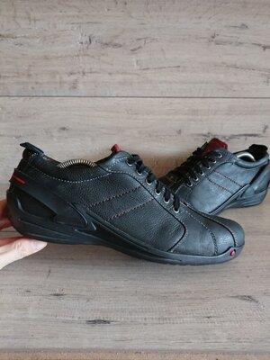 Туфли мокасины Пьер Карден Pierre Cardin 44р 29 см кожа