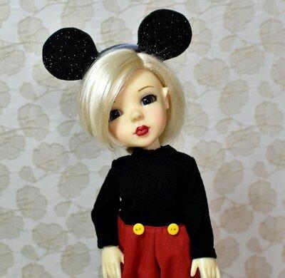 Mickey кукла бжд от Bo Bergemann