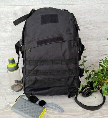 Мужской вместительный рюкзак черного цвета 50402