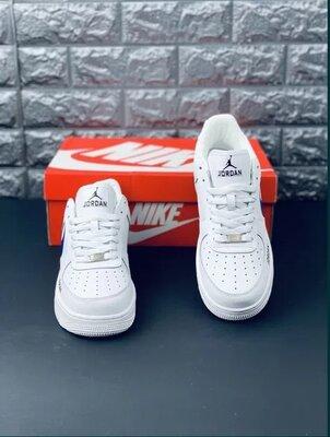 подросток Nike air max ar1 Jordan Найк джордан аир форс Кроссовки белые женские