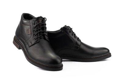 Кожаные зимние мужские ботинки, мужские зимние ботинки