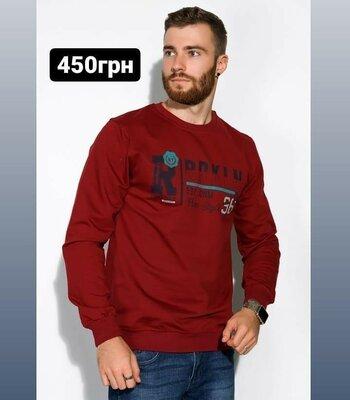 Продано: Модный мужской свитшот толстовка чоловічий модний світшот кофта свитер светр