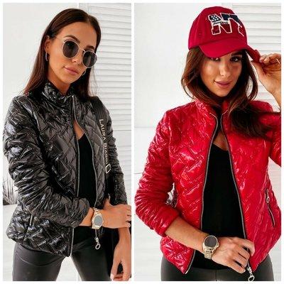 Куртка тренд 2020 норма и батал Чёрный и красный, супер качество
