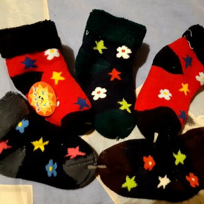 Теплые носочки 1-3 года Ассортимент