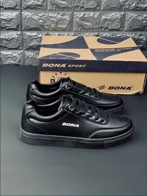 Мужские черные кроссовки Бона кроссовки мужские Bona
