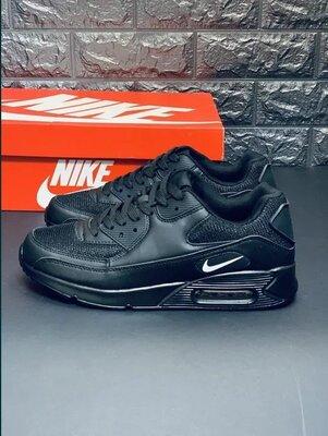 Ядовито черные кроссовки женские Nike унисекс мужские кроссовки подросток Найк