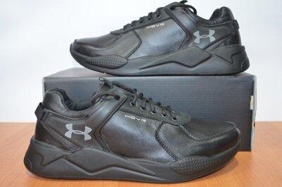 Кожаные кроссовки Under Armour.