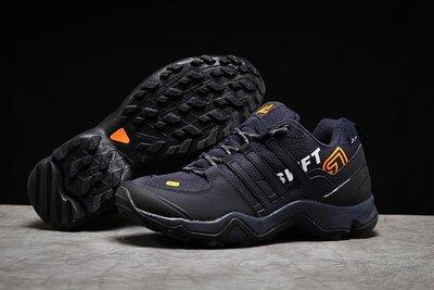 Мужские кроссовки термо Adidas Terrex Swift 465, темно синие