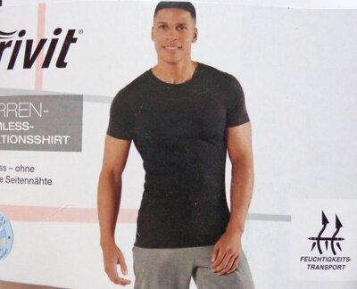 Бесшовная мужская функциональная футболка р.XL спортивная от Livergy, Германия