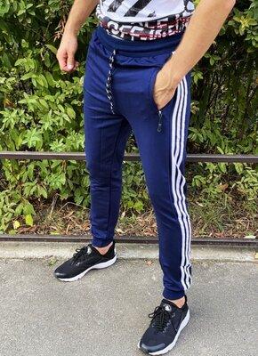 Спортивные штаны classic темно-синие
