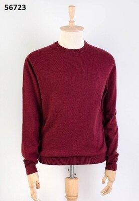 Мужской свитер в бордовом цвете M-2XL
