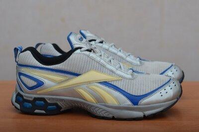 Серые беговые кроссовки Reebok, 42 размер. Оригинал