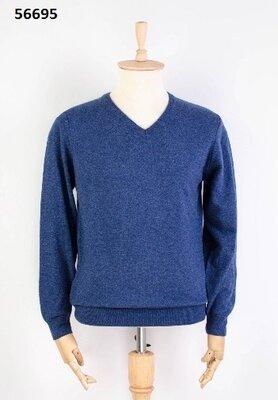 Мужской свитер в синеем цвете M-2XL