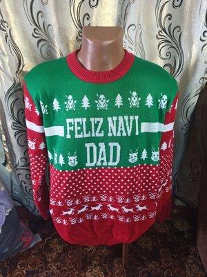 Мужской новогодний свитер Noroze