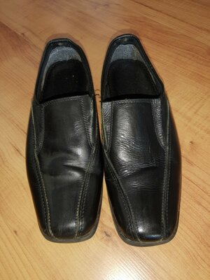 Кожаные туфли детские