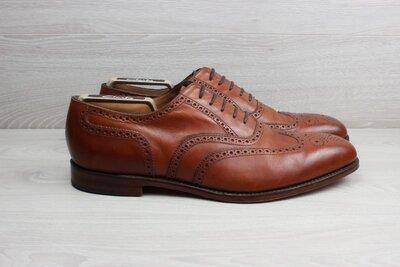 Кожаные туфли / броги Loake England, размер 46 - 47 ручная работа