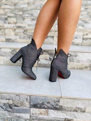 Женские демисезонные ботинки натуральная кожа
