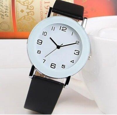 Часы Selling Fashion Simple White Leather