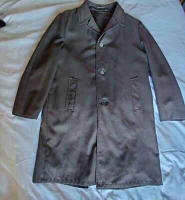 Теплое демисезонное полушерстяное пальто Tiklas Финляндия
