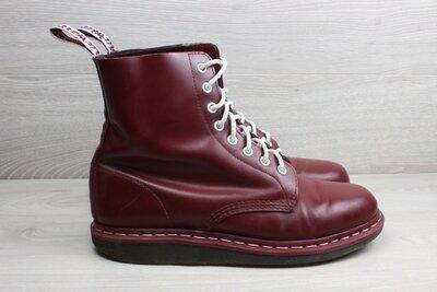 Кожаные мужские ботинки Dr. Martens оригинал, размер 42 - 43 cherry