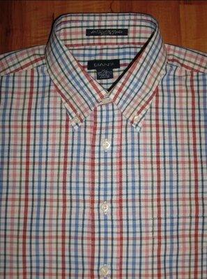 XL новая рубашка Gant - 80's Two Ply Poplin Dress Fit