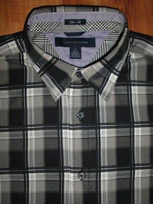 новая рубашка Tommy Hilfiger - SlimFit оригинал