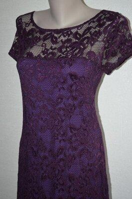 Шикарное, брендовое, кружевное, ажурное платье от HOTSQUASH.