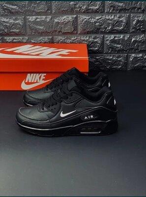 Черные мужские кроссовки найк Nike