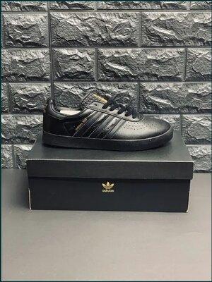 Кроссовки кожаные мужские Adidas, шкіряні кросівки Адідас кеди