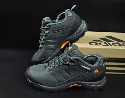 мужские термо кроссовки Adidas ClimaProof серые 41-46р