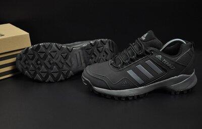 мужские термо кроссовки Adidas Terrex 41-46р черные