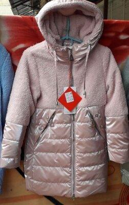 Деми пальто для девочек 122- 146р