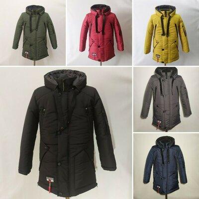 Зимняя куртка для подростков и мальчиков 6 расцветок