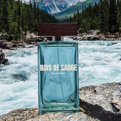 Новинка Туалетная вода Dois de Sauge Бойс де Саж Ив Роше Yves Rocher